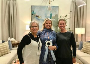 Anne Buresh received the award for Best Interior Design at the Western Design Conference