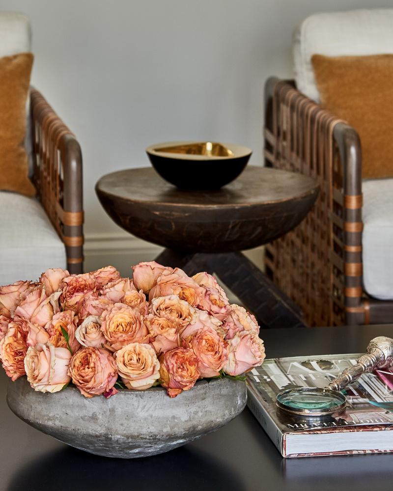 anne buresh interior design show house flowers